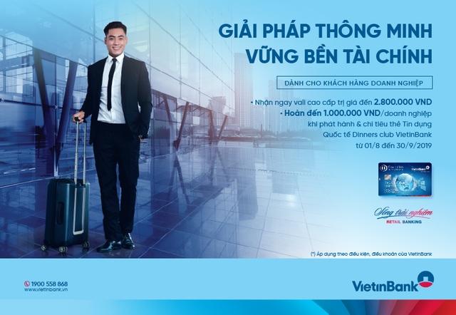Nhận ngay ưu đãi trị giá đến 3.800.000 VND khi mở thẻ TDQT DCI VietinBank - 1