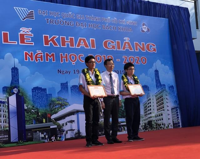 Lễ khai giảng sớm của hơn 5.000 tân sinh viên ĐH Bách khoa TPHCM - 4
