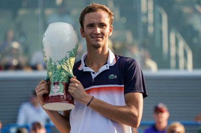 Sau khi loại Djokovic, Medvedev đã vô địch Cincinnati Masters - 1