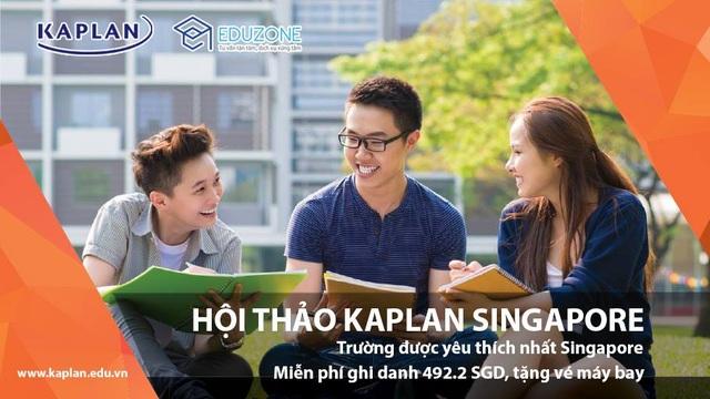 """Ngày hội tư vấn """"Lộ trình học Đại học khi chưa có bằng THPT tại Kaplan Singapore"""" - 1"""