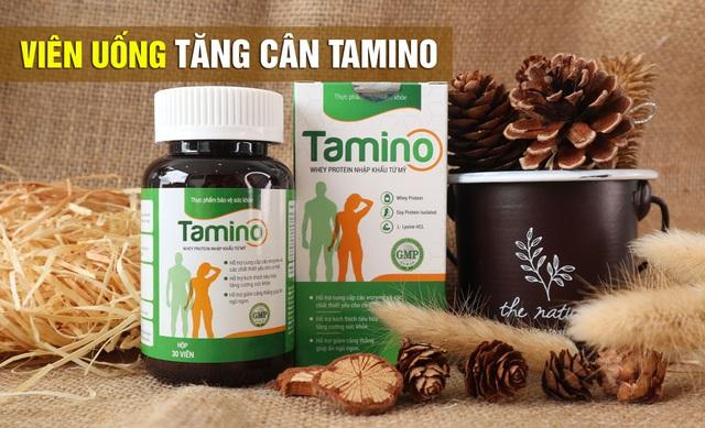 TPBVSK Viên Tăng Cân Tamino – Giải pháp hỗ trợ tăng cường thể lực và cân nặng - 4