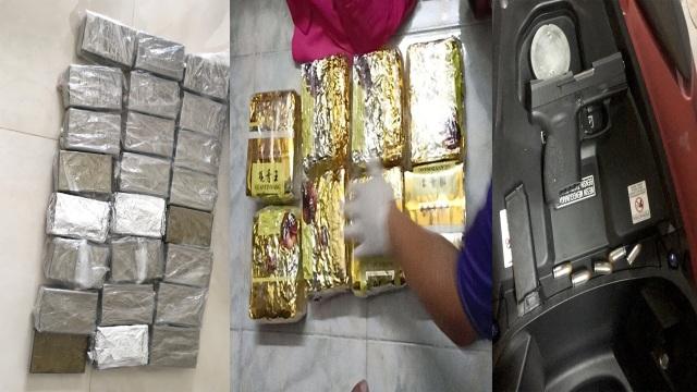Chân dung nhóm đối tượng buôn ma túy ném lựu đạn chống trả công an  - 2
