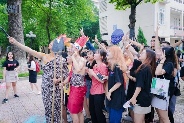 Độc đáo cách tiếp tân sinh viên 2019 của Học viện Báo chí  Tuyên truyền - 5