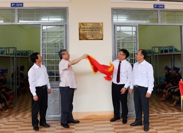 Vietcombank tài trợ 4,2 tỷ đồng xây Nhà ở bán trú và Nhà ăn cho Trường PTDT nội trú A ma Trang Lơng tại tỉnh Gia Lai - 3