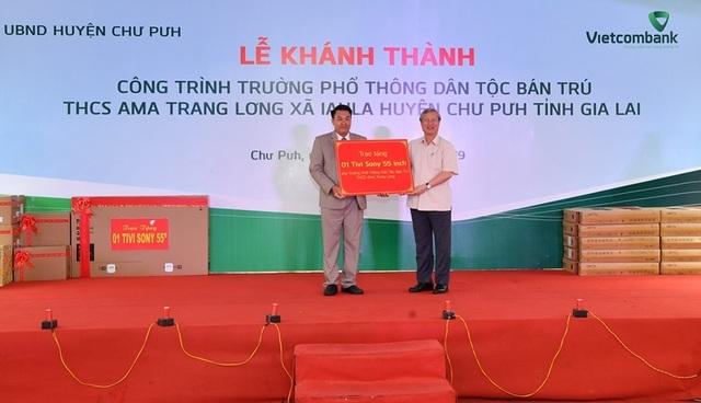 Vietcombank tài trợ 4,2 tỷ đồng xây Nhà ở bán trú và Nhà ăn cho Trường PTDT nội trú A ma Trang Lơng tại tỉnh Gia Lai - 4