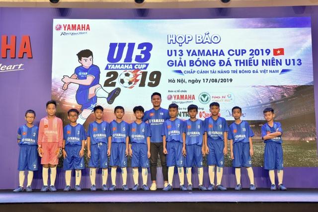 Yamaha tiếp tục đồng hành cùng bóng đá Việt Nam với giải U13 Yamaha Cup 2019 - 1