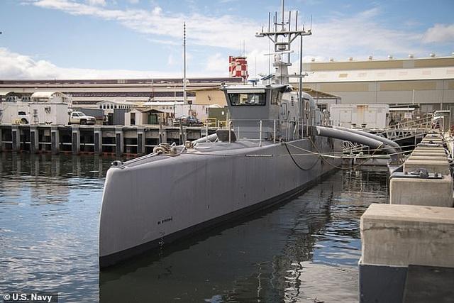 """Mỹ chi 1 tỷ USD xây đội tàu không người lái """"bóng ma đại dương"""" - 2"""