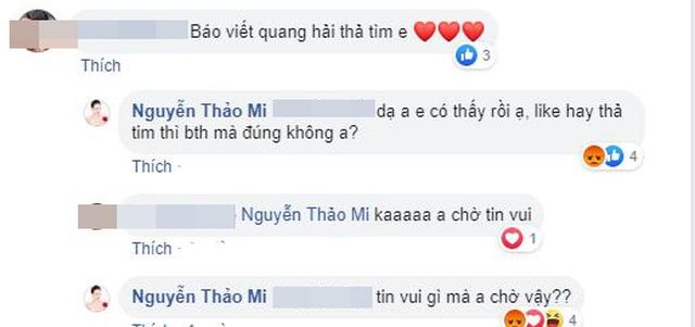 Bạn gái tin đồn lên tiếng về chuyện tình cảm với Quang Hải - 5