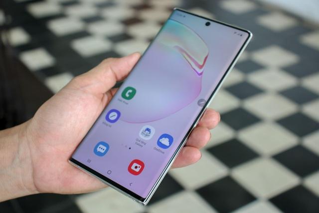 Đập hộp Galaxy Note10+ chính hãng sắp lên kệ thị trường Việt - 8