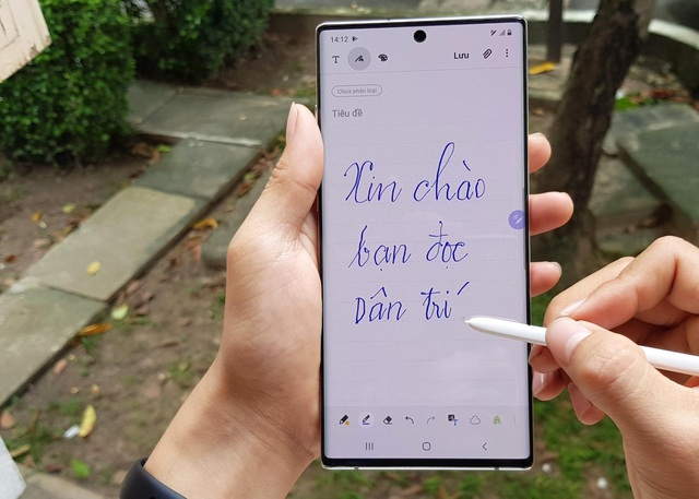 Đập hộp Galaxy Note10+ chính hãng sắp lên kệ thị trường Việt - 12