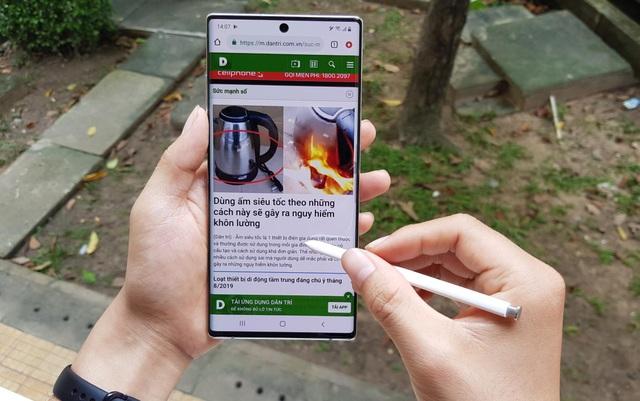 Đập hộp Galaxy Note10+ chính hãng sắp lên kệ thị trường Việt - 15