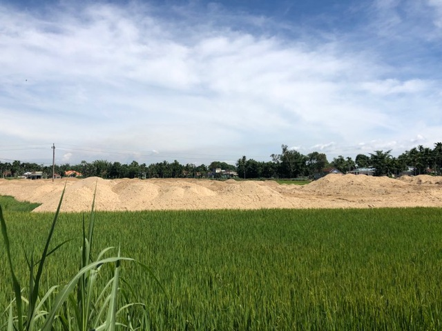 Vụ khu dân cư vây ruộng tại Quảng Ngãi:  Chủ đầu tư có nhiều sai phạm! - 1