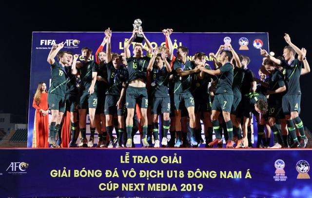 Thắng sát nút Malaysia, Australia vô địch giải U18 Đông Nam Á 2019 - 1