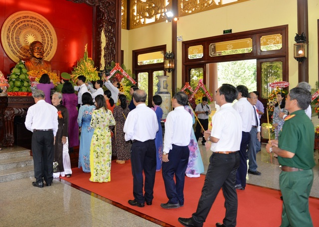An Giang kỷ niệm 131 năm Ngày sinh Chủ tịch Tôn Đức Thắng - 1