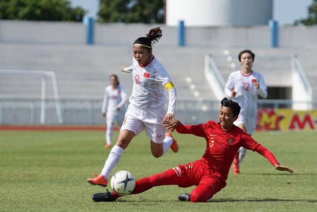 Đánh bại Myanmar, đội tuyển nữ Việt Nam toàn thắng ở vòng bảng giải Đông Nam Á - 1