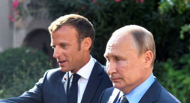 """Ông Putin """"phản pháo"""" quan ngại của Tổng thống Pháp về biểu tình tại Nga - 1"""