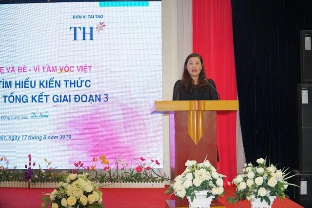 Thêm 4.260 lượt người hưởng lợi từ dự án Vì mẹ và bé – Vì Tầm vóc Việt - 2