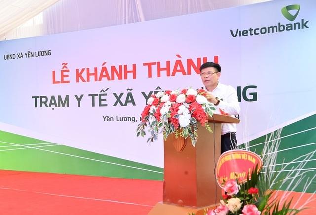 Khánh thành Trạm y tế xã Yên Lương tại tỉnh Phú Thọ do Vietcombank tài trợ 2 tỷ đồng - 3