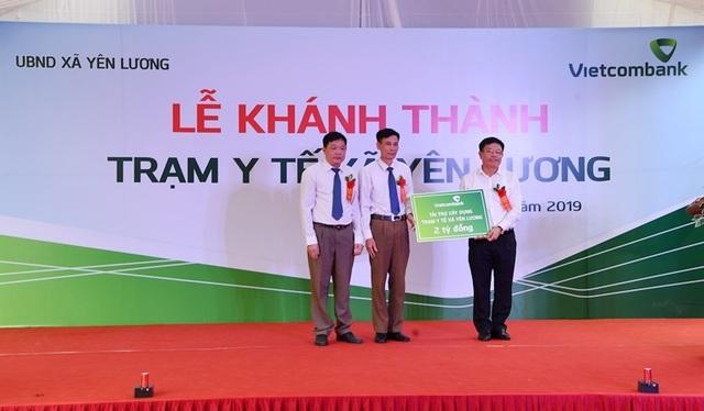 Khánh thành Trạm y tế xã Yên Lương tại tỉnh Phú Thọ do Vietcombank tài trợ 2 tỷ đồng - 4