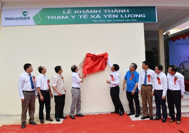 Khánh thành Trạm y tế xã Yên Lương tại tỉnh Phú Thọ do Vietcombank tài trợ 2 tỷ đồng - 2
