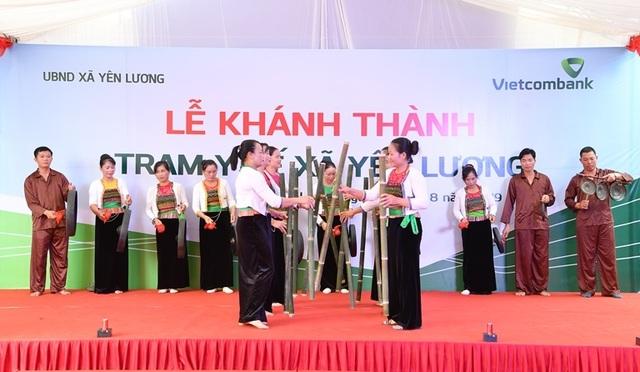 Khánh thành Trạm y tế xã Yên Lương tại tỉnh Phú Thọ do Vietcombank tài trợ 2 tỷ đồng - 8