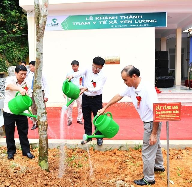 Khánh thành Trạm y tế xã Yên Lương tại tỉnh Phú Thọ do Vietcombank tài trợ 2 tỷ đồng - 5