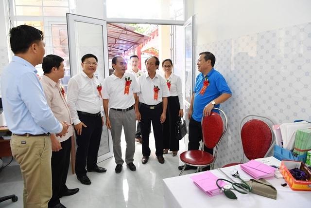 Khánh thành Trạm y tế xã Yên Lương tại tỉnh Phú Thọ do Vietcombank tài trợ 2 tỷ đồng - 6