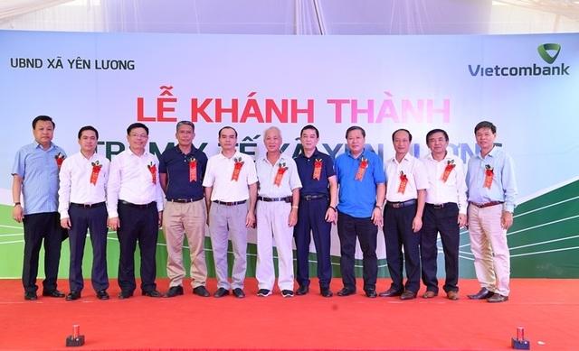 Khánh thành Trạm y tế xã Yên Lương tại tỉnh Phú Thọ do Vietcombank tài trợ 2 tỷ đồng - 7