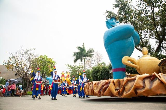 Độc đáo Vũ hội Hóa trang tại công viên Thiên đường Bảo Sơn dịp lễ 2/9 - 4