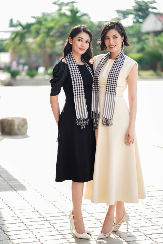 Hơn 13 tuổi, Vũ Cẩm Nhung trẻ đẹp không kém Á hậu Thùy Dung - 1