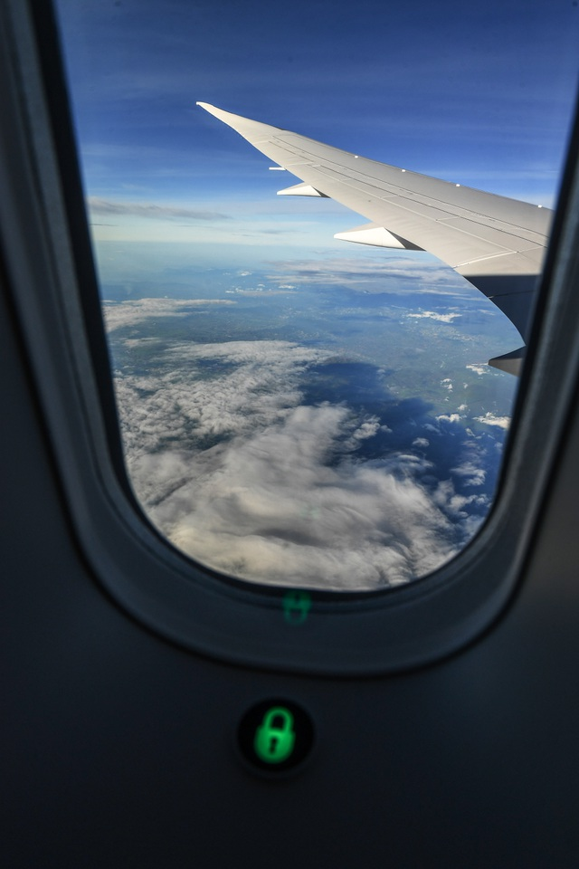 Hành khách ngỡ ngàng khi được trải nghiệm máy bay Boeing lớn nhất thế giới vừa về Việt Nam - 6