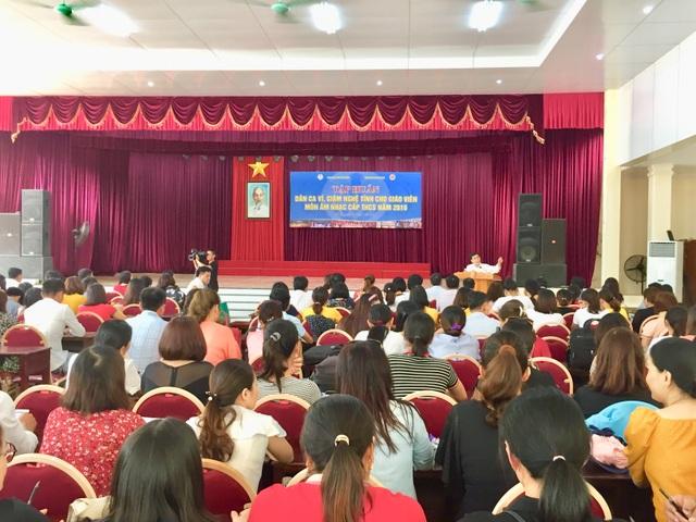 """Hà Tĩnh: Gần 200 giáo viên """"khám phá"""" về di sản văn hóa phi vật thể - 1"""