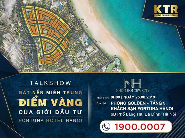 Khương Thịnh Miền Trung mang cơ hội đầu tư Nhơn Hội New City đến Hà Nội - 1