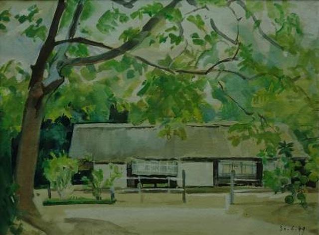 """Bảo tàng Mỹ thuật Việt Nam giới thiệu triển lãm đặc biệt """"Nhớ về Bác"""" - 11"""
