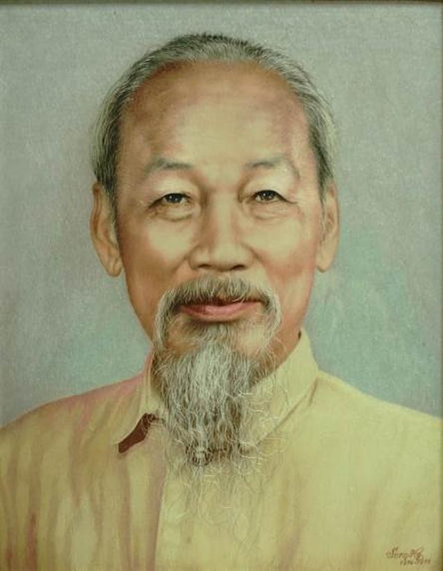 """Bảo tàng Mỹ thuật Việt Nam giới thiệu triển lãm đặc biệt """"Nhớ về Bác"""" - 5"""