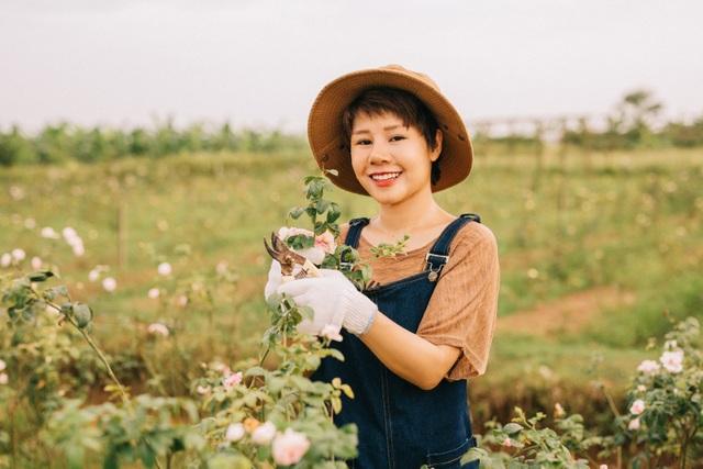 Nữ giám đốc đam mê hoa hồng, sở hữu trang trại hoa hồng đẹp như cổ tích hơn 30.000m2 - 11
