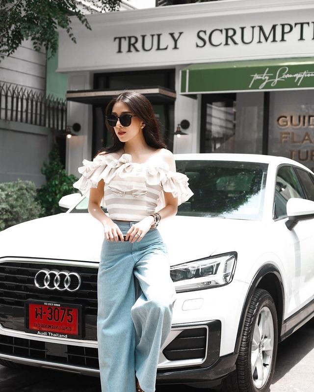 Tiểu thư con nhà giàu Thái Lan xinh như tiên, sở hữu cả một công ty thời trang - 4