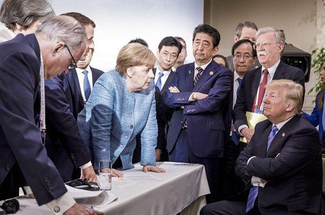 """Ông Trump tung """"lựu đạn ngoại giao"""" đầu tiên trước thềm thượng đỉnh G7 - 1"""