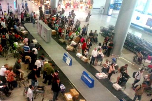 Hai khách nữ Việt Nam - Hàn Quốc ẩu đả tại sân bay Nội Bài - 1