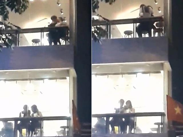 """Cặp đôi Sài thành ôm hôn, sờ soạng nhau trong quán trà sữa khiến dân mạng """"nóng mắt"""" - 2"""