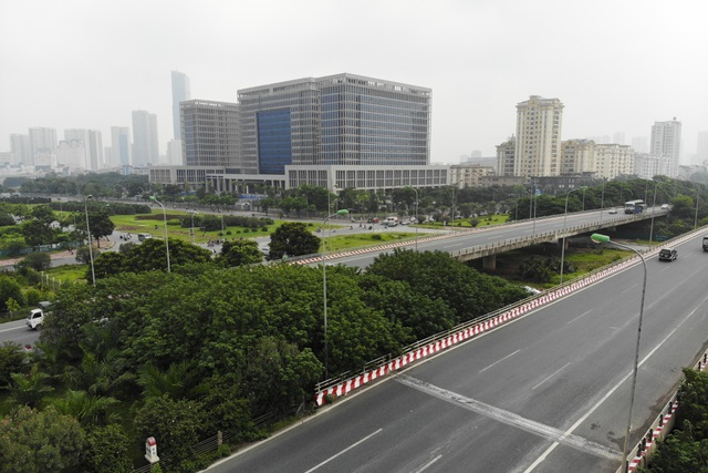 Nhìn từ trên cao rừng tái sinh suốt 24km dọc đại lộ Thăng Long - 2