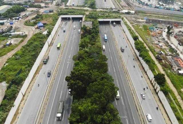 Nhìn từ trên cao rừng tái sinh suốt 24km dọc đại lộ Thăng Long - 5