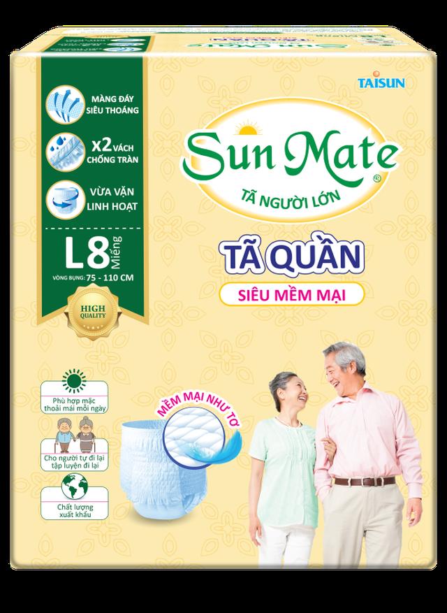 Giải pháp chăm sóc người thân tối ưu với tã quần SunMate - 1