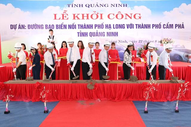 Quảng Ninh khởi công đường bao biển hơn 1.300 tỷ đồng - 1
