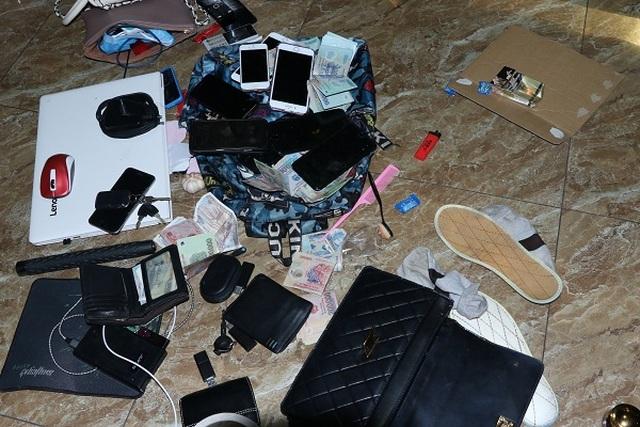 Mở tiệc ma túy trong quán Karaoke, hàng chục đối tượng bị bắt giữ - 3
