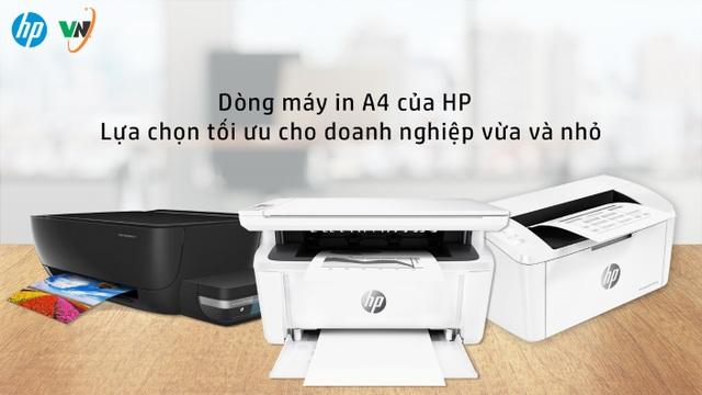Máy in HP – Giải pháp tối ưu cho các nhu cầu in ấn khác nhau của doanh nghiệp - 1
