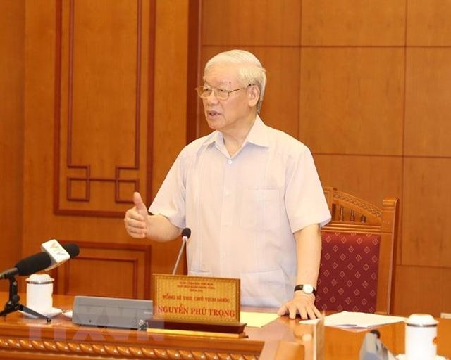 Tổng Bí thư, Chủ tịch nước Nguyễn Phú Trọng,