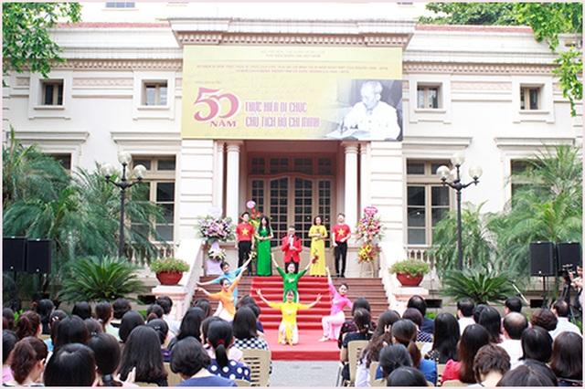 Nhiều hoạt động kỷ niệm 50 năm thực hiện Di chúc của Chủ tịch Hồ Chí Minh - 2