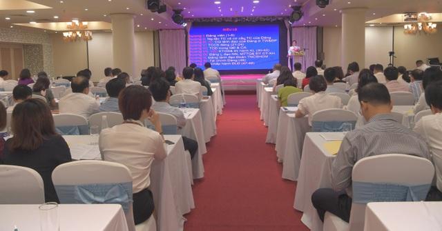 Vietcombank tổ chức hội nghị tập huấn nghiệp vụ công tác Đảng năm 2019 - 1