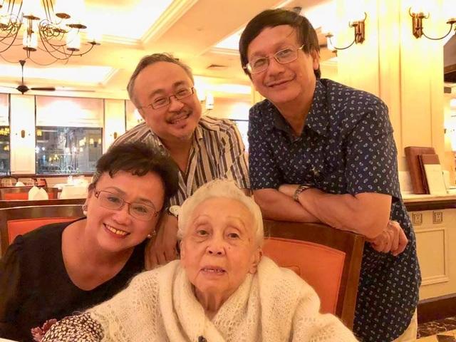 NSND Đặng Thái Sơn kể về người mẹ đã bước sang tuổi 102 - 2